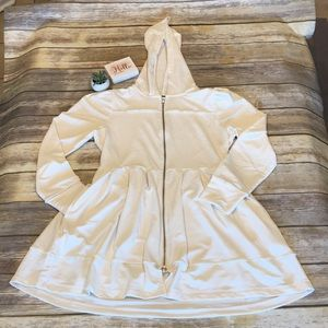 🦋Venus Fit and Flare Dress With Hoodie